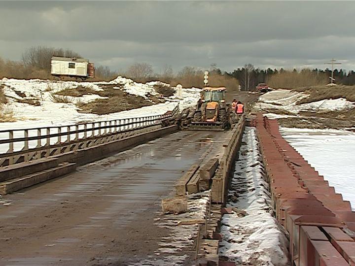 В Кирово-Чепецке закроют движение по наплавному мосту