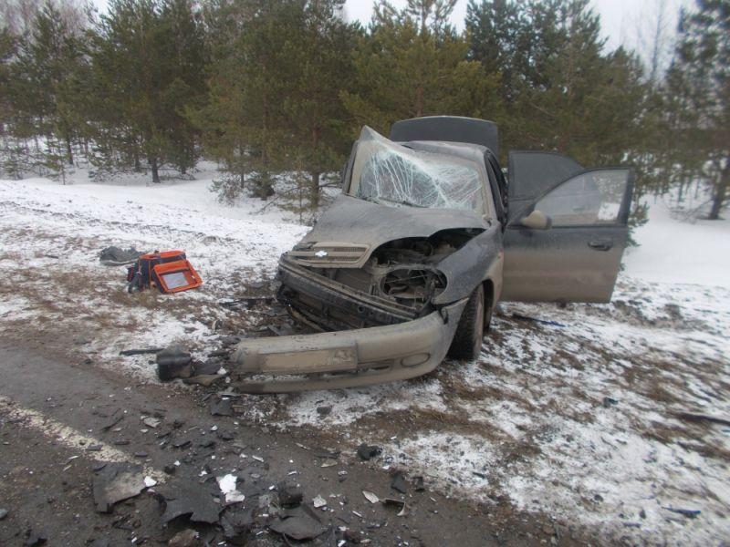 ВУржумском районе столкнулись две легковые иномарки