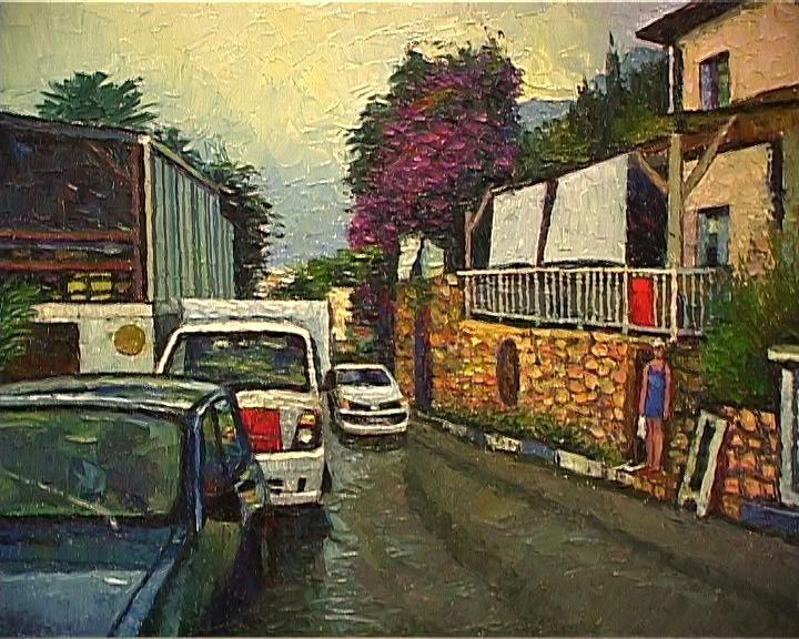 Краски средиземноморья на картинах Геннадия Носкова