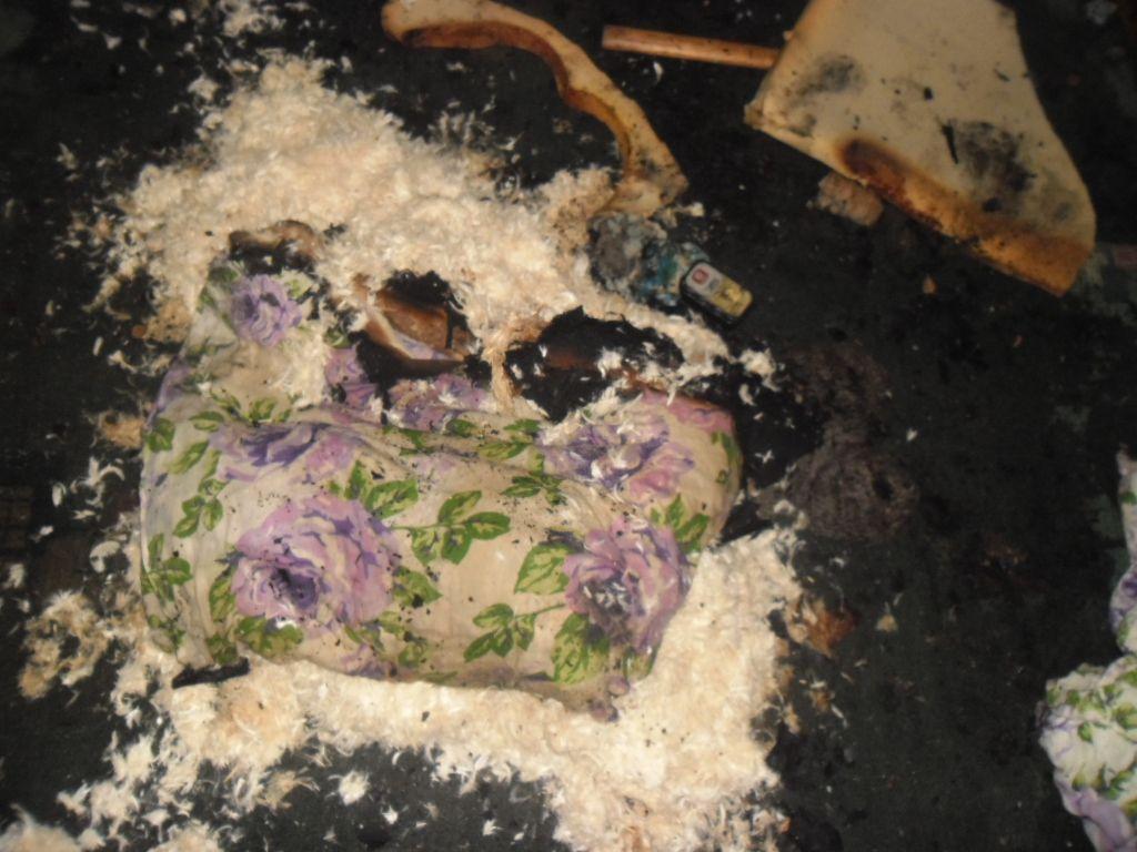 Непотушенная сигарета чуть нестоила жизни кировчанину иего соседям покоммуналке