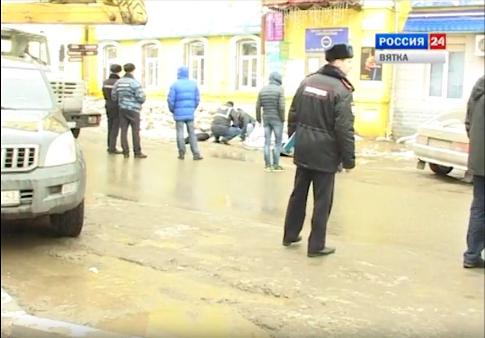 По делу о падении льда на улице Преображенской задержан начальник отдела ООО «УК Ленинского района».