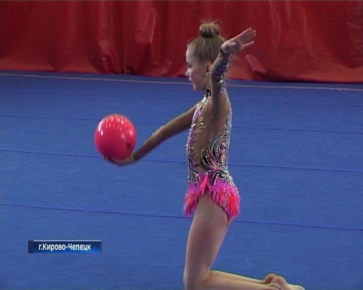 В Кирово-Чепецке состоялся ежегодный турнир по художественной гимнастике