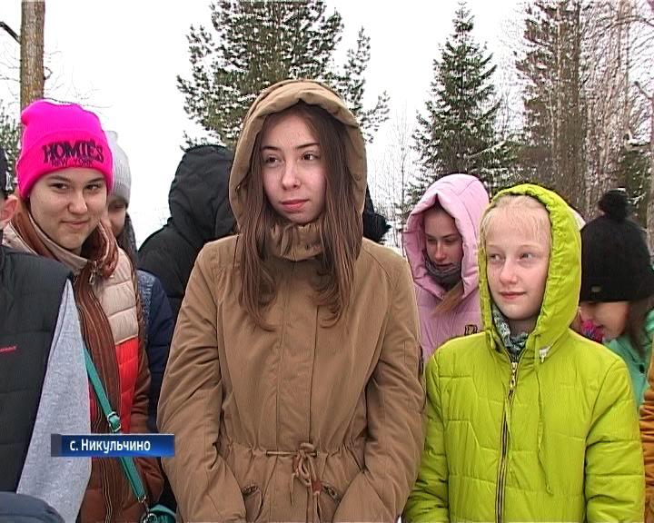 Кировские школьники побывали в селе Никульчино