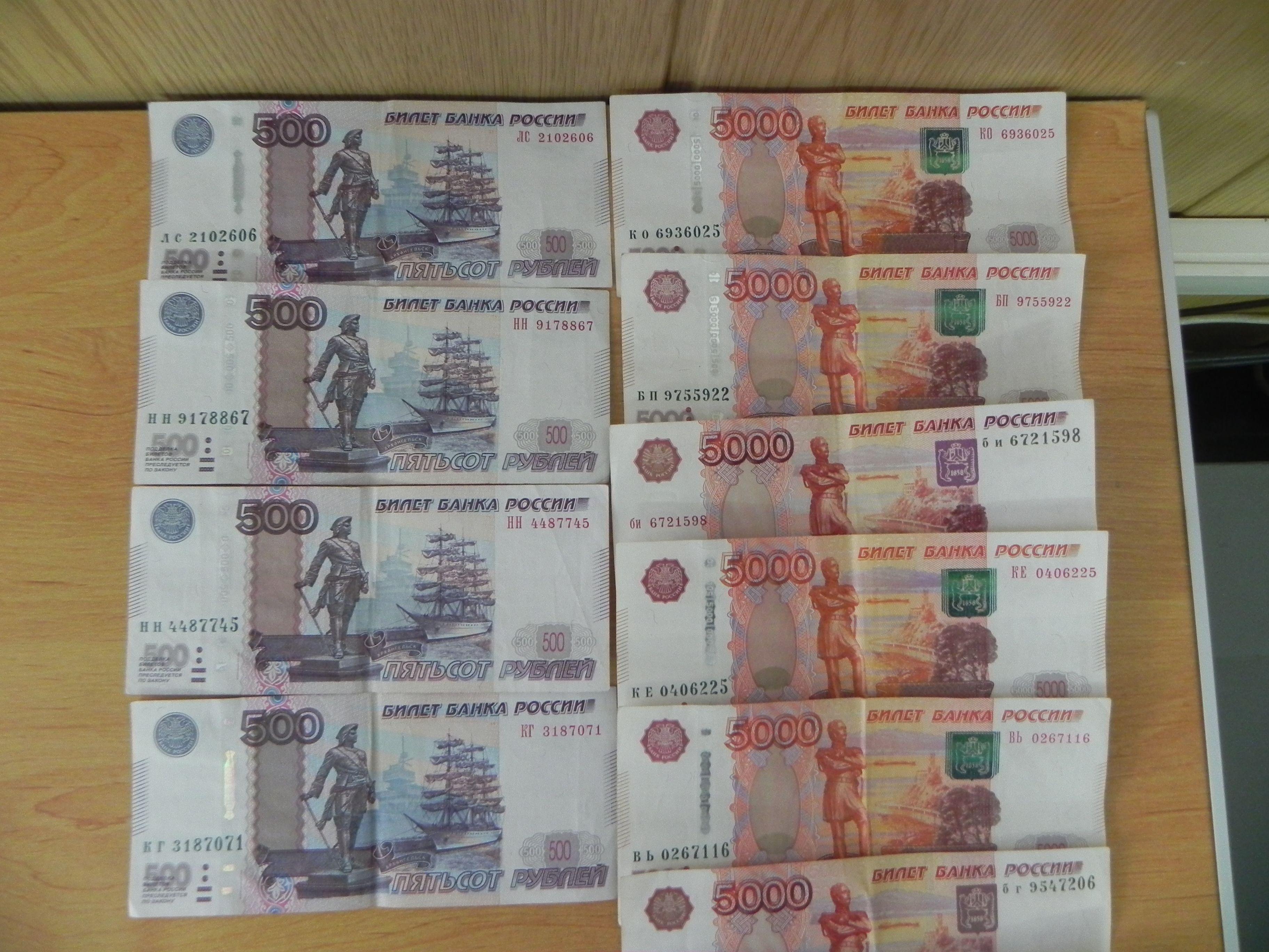ВКировской области мать пробовала пронести 67 000 руб. сыну вколонию