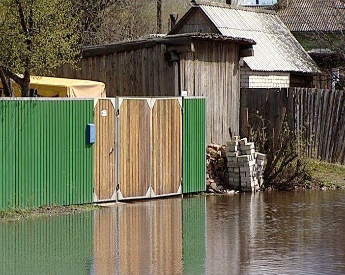 За сутки вода в реке Вятке в черте Кирова прибыла на 19 см.