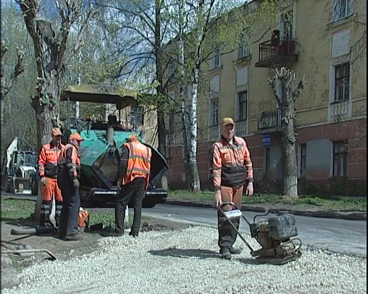 В Кирове завершается ремонт первых запланированных участков городских дорог