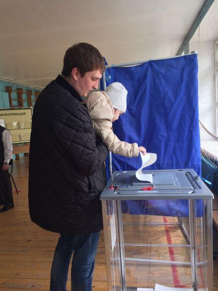 В Кирове проходит предварительное голосование.