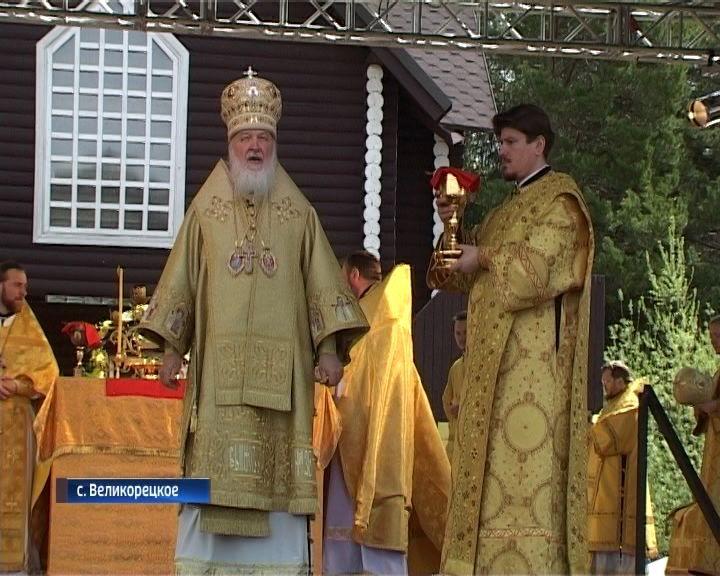 Патриарх Московский и Всея Руси Кирилл впервые принял участие в главных торжествах Великорецкого крестного хода