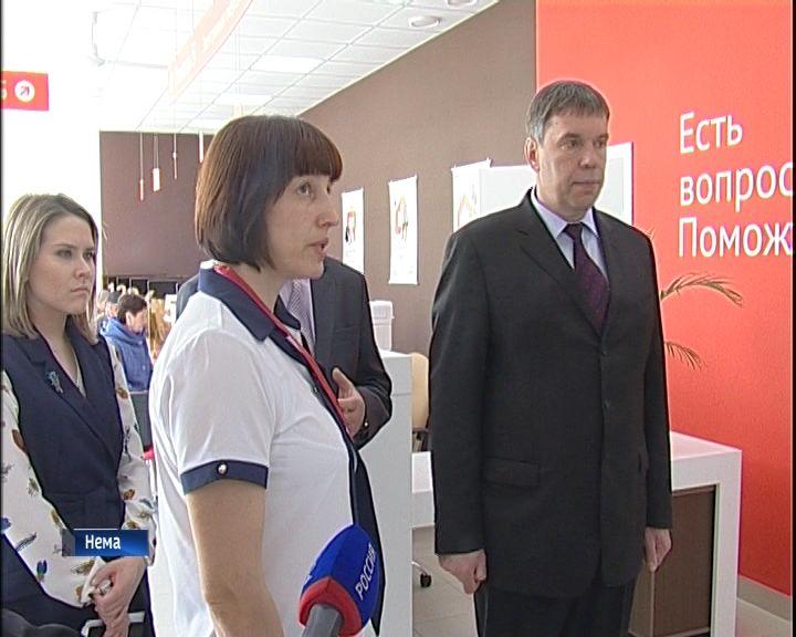 Рабочая поездка Владимира Климова в Немский и Куменский районы