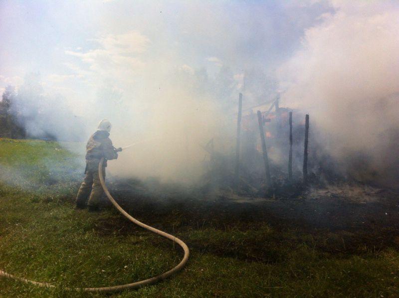ВКировской области случилось массовое возгорание жилых домов