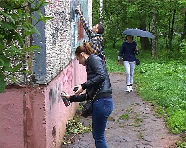 Кировская молодежь продолжает борьбу с рекламой наркотиков