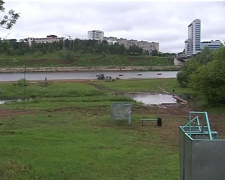 Муниципальный пляж города Кирова увеличится на гектар