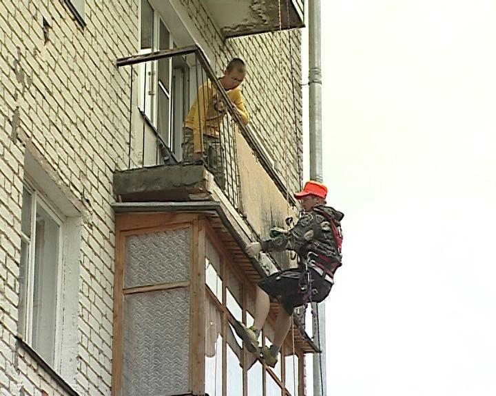 Управляющая компания, которая не следила за состоянием балконов, заплатит штраф