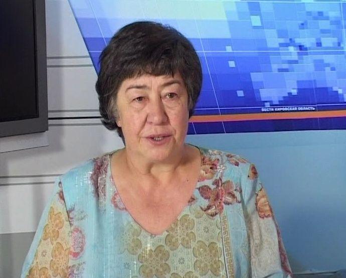Большой юбилей отметила первый диктор кировского областного телевидения Лилия Лиханова