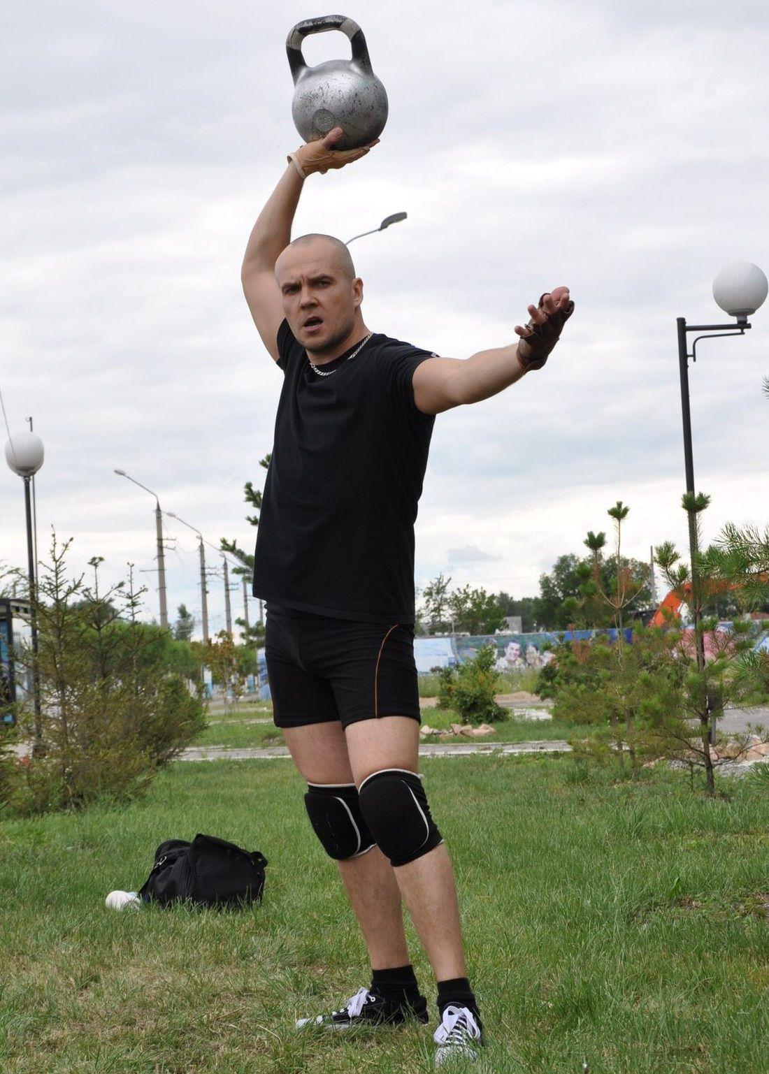 Кировчанин - чемпион мира по силовому жонглированию гирями