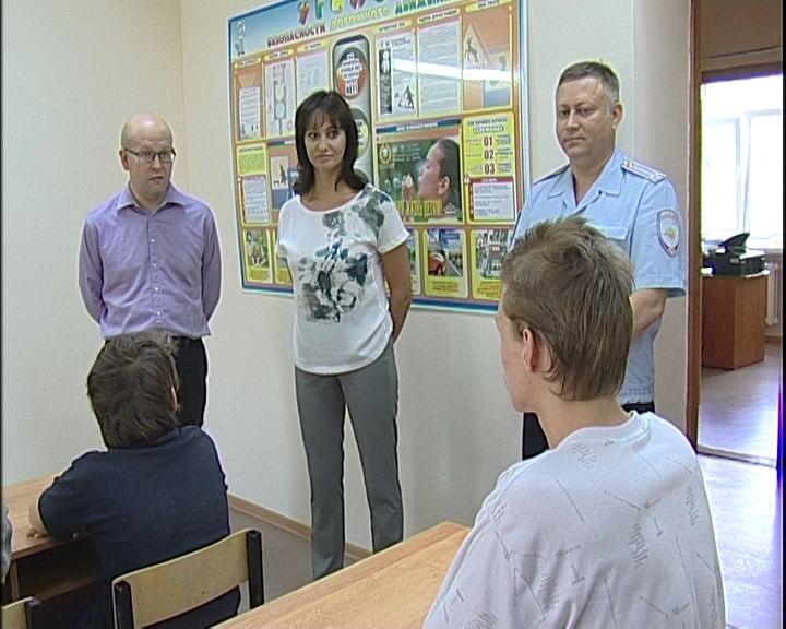 Члены общественного совета при УМВД проверили условия содержания несовершеннолетних правонарушителей