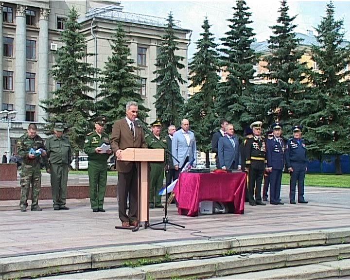 В Кирове стартовал автопробег в честь 90-летия ДОСААФ России