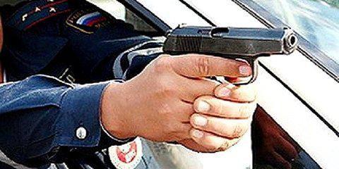 ВЧепецком районе нетрезвого водителя остановили выстрелами поавто