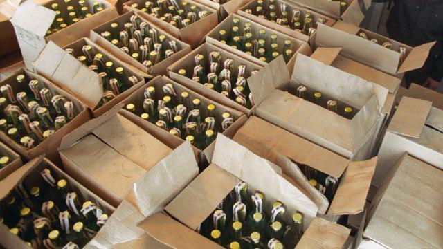 В Кирове продавца фальсифицированного алкоголя оштрафовали на 300 тысяч рублей.
