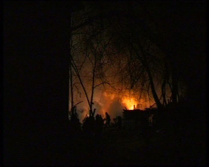 Проверка по пожару в Дресвяново, где погибли два человека
