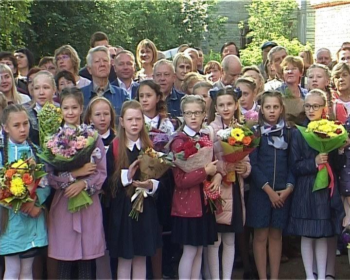 Владимир Климов поздравил с началом учебного года