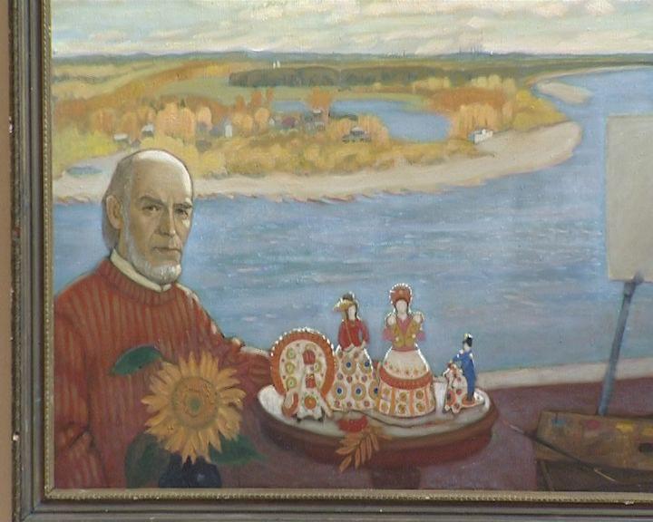 Выставка, посвященная 90-летию художника Виктора Кашина