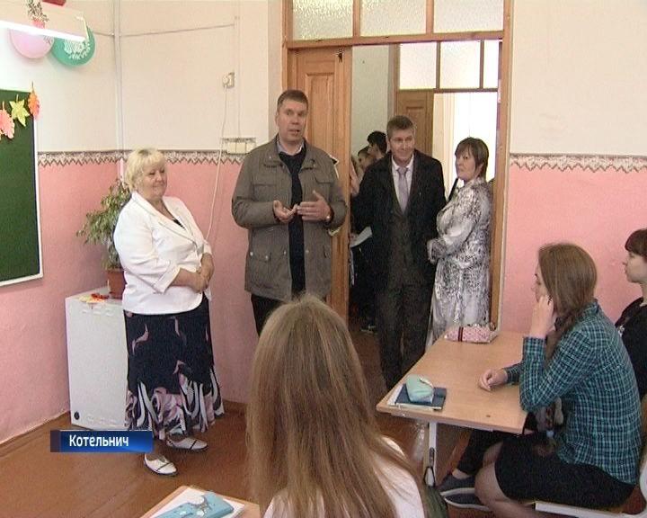 Владимир Климов посетил с рабочим визитом Котельничский район