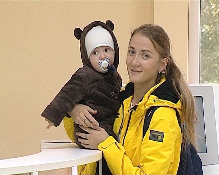 Открытие детской поликлиники № 2 на улице Некрасова
