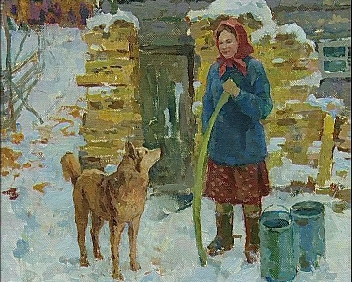 Юбилейная выставка художника Георгия Вопилова