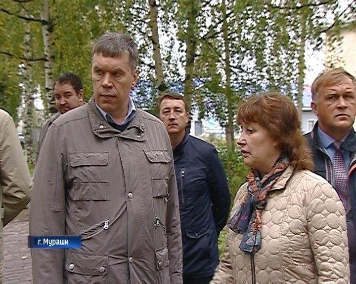 Владимир Климов посетил с рабочим визитом город Мураши