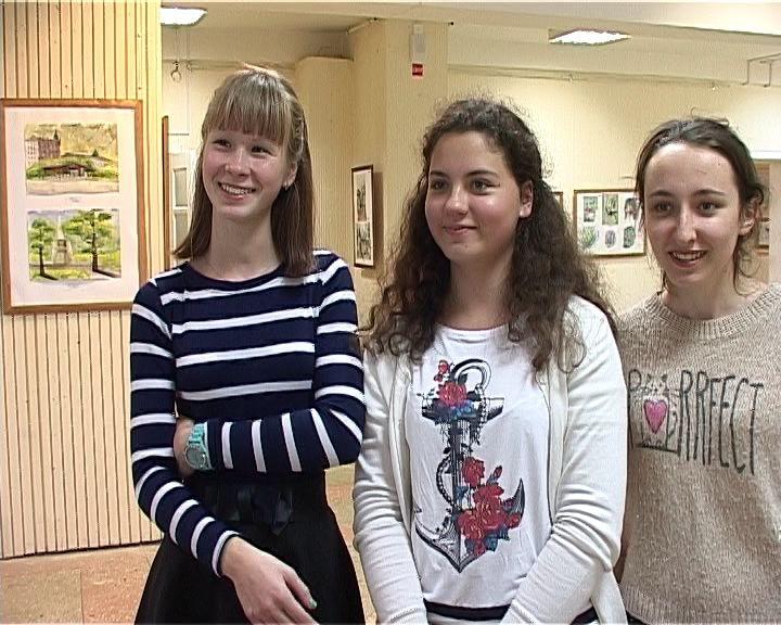 Выставка по итогам летнего пленэра в Петербурге