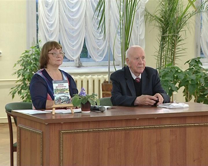 В библиотеке имени Герцена прошла встреча Владимира Ситникова со своими читателями