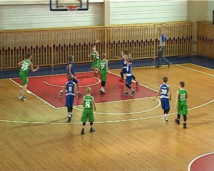 В первой спортивной школе прошел турнир по баскетболу
