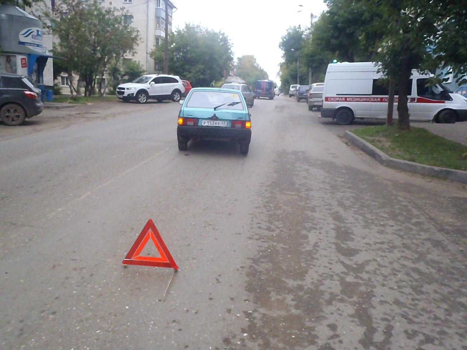 На улице Преображенской