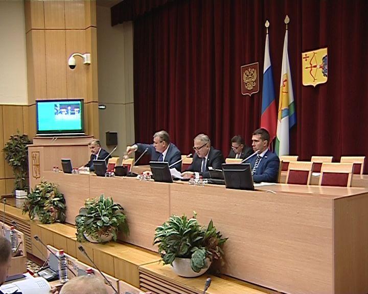 Депутатам Заксобрания представили обновлённый состав областного правительства