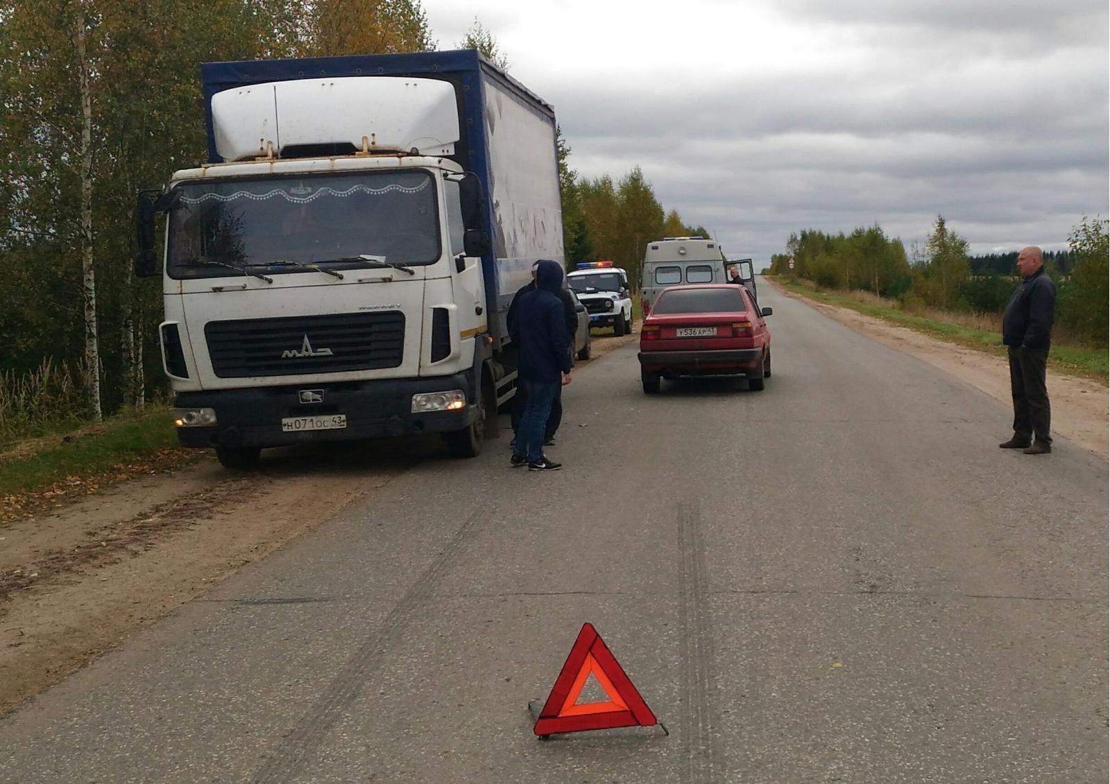 В Оричевском районе «Фольксваген Джетта» сбил пешехода.