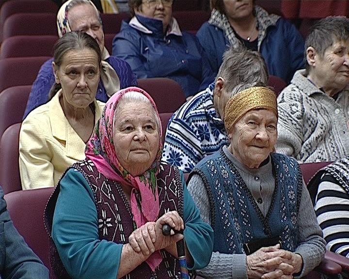 Концерт в Доме-интернате для престарелых и инвалидов