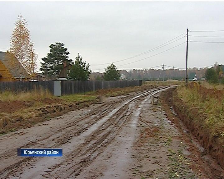 Дорога в деревню Искра Юрьянского района оказалась на частной земле