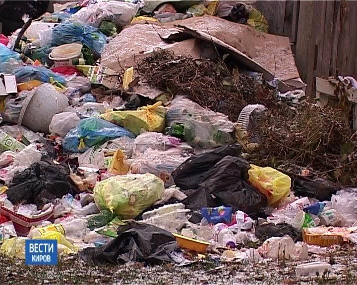 Водворах домов вСидоровке собралось 400 кубометров мусора