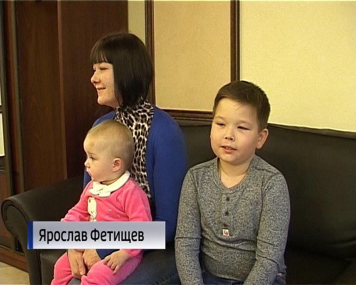 Надень рождения кировский школьник получил портрет президента савтографом