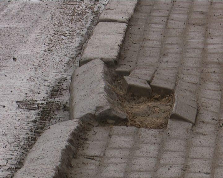 В Кирове на отремонтированной улице Милицейской появились новые дефекты