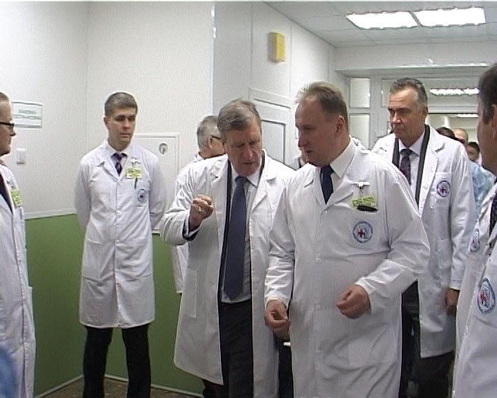 Завершилась реконструкция хирургического отделения № 1 Областной клинической больницы