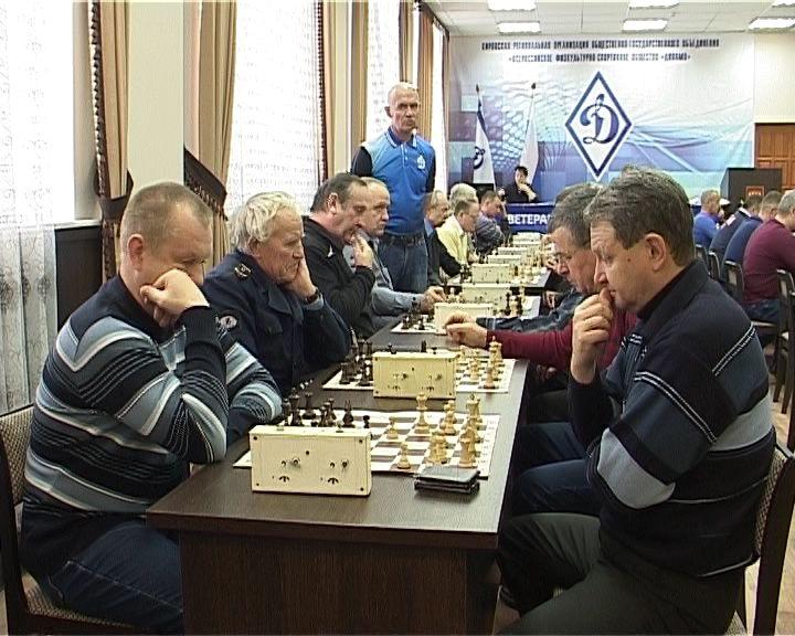 Первенство шашкам и шахматам среди ветеранов органов безопасности и правопорядка