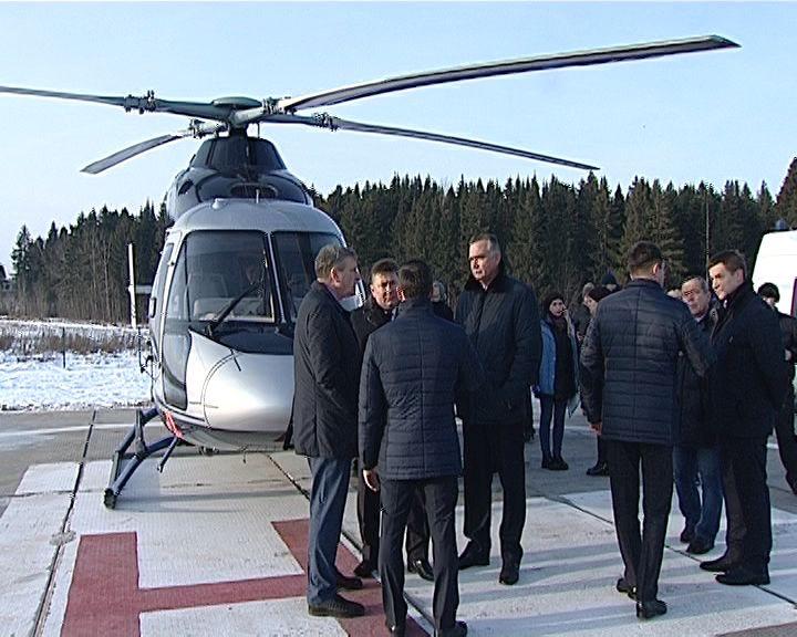 В Кирове открыли третью вертолетную площадку для санавиации