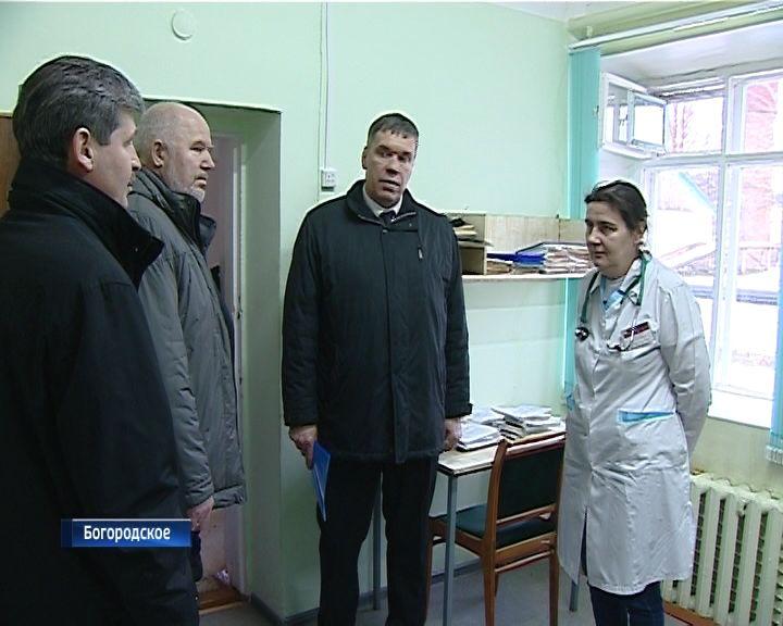 Владимир Климов с рабочим визитом посетил Богородский район