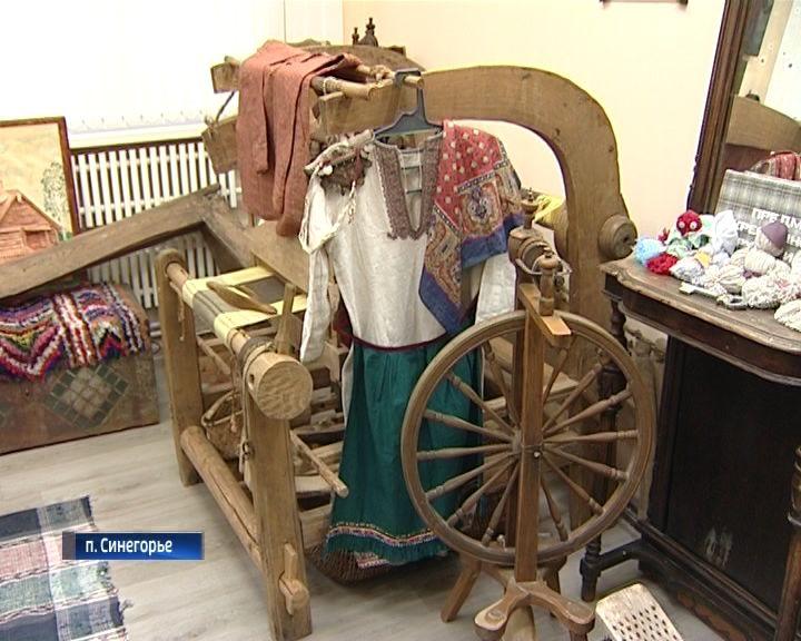 В школьном музее поселка Синегорье можно увидеть уникальные экспонаты