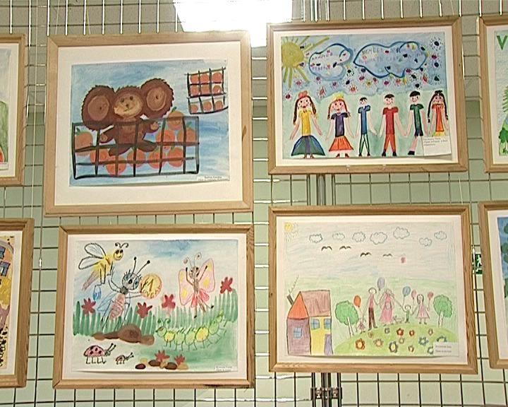 В конкурсе рисунков