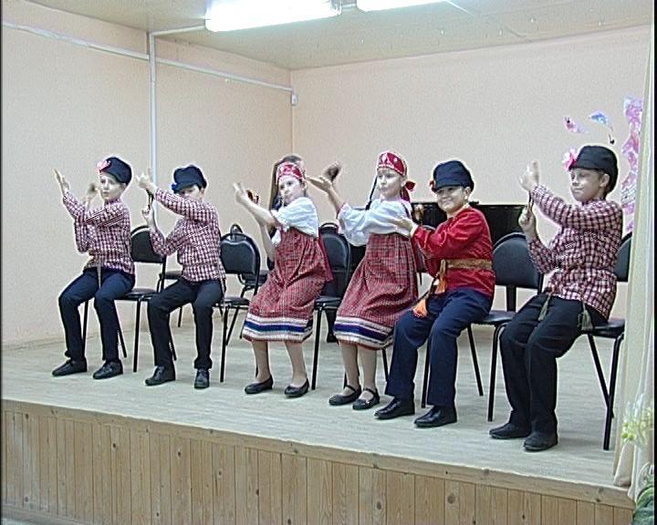 Воспитанники школы искусств