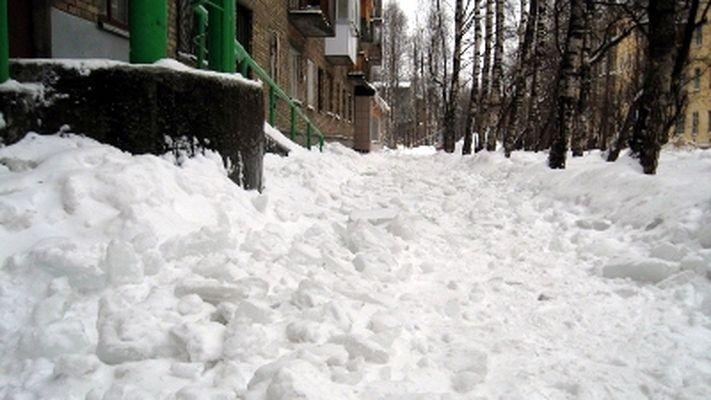 В снегопад подрядчики сработали на