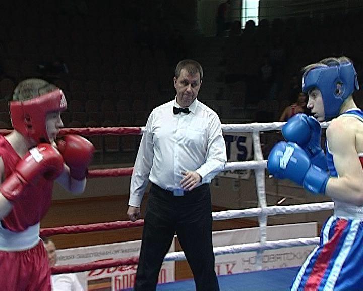 Чемпионат и Первенство области по боксу во Дворце Единоборств